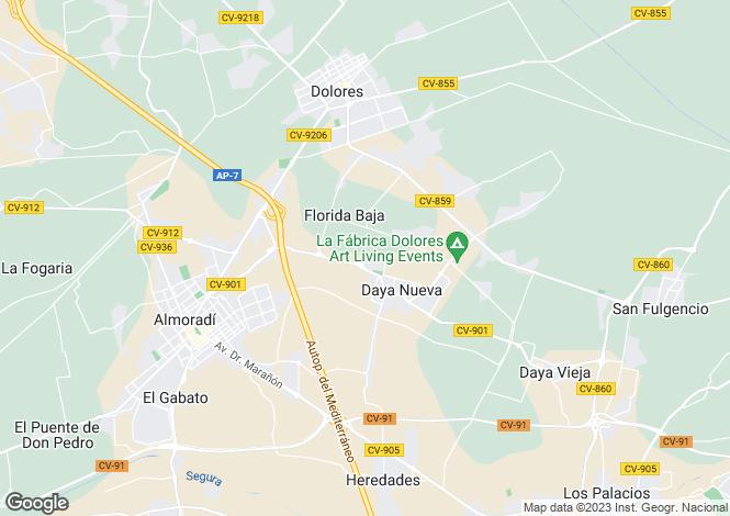 Map for Daya Nueva