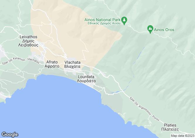 Map for Simotata, Cephalonia, Ionian Islands