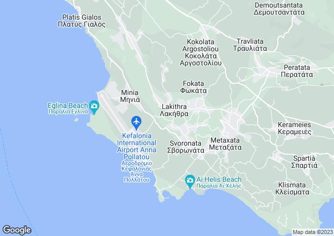 Map for Sarlata, Cephalonia, Ionian Islands