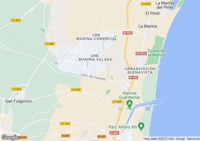 Map for La Marina