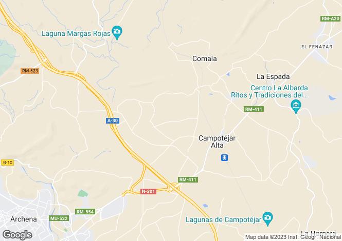 Map for Cieza, Murcia