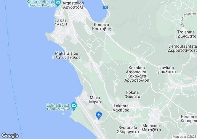 Map for Kobothekrata, Cephalonia, Ionian Islands