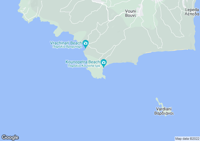 Map for Kounopetra, Cephalonia, Ionian Islands