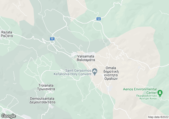 Map for Valsamata, Cephalonia, Ionian Islands