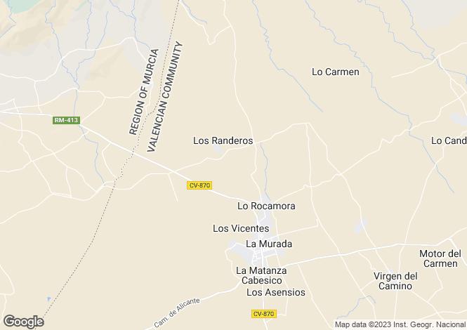 Map for Las Cananas 7, La Murada