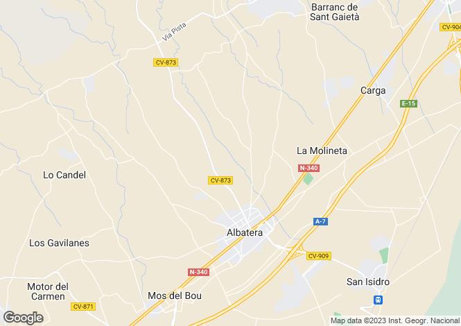 Map for Albatera, Alicante, Valencia