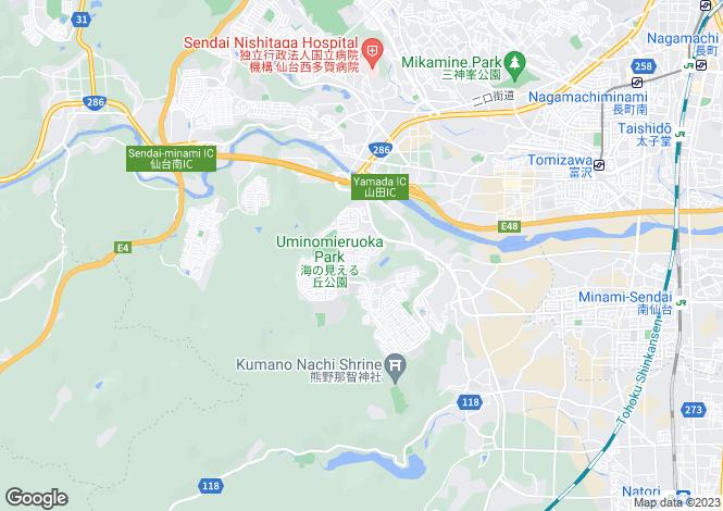 Map for Miyagi