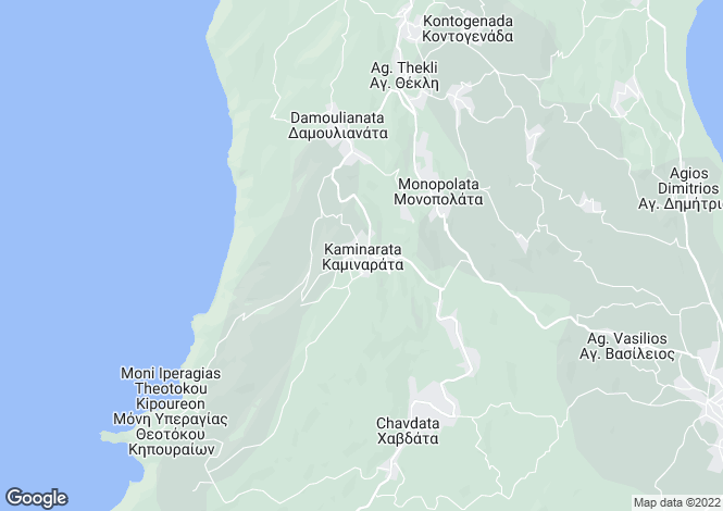 Map for Kaminarata, Cephalonia, Ionian Islands