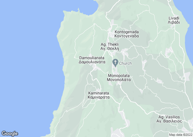 Map for Ionian Islands, Cephalonia, Rifi