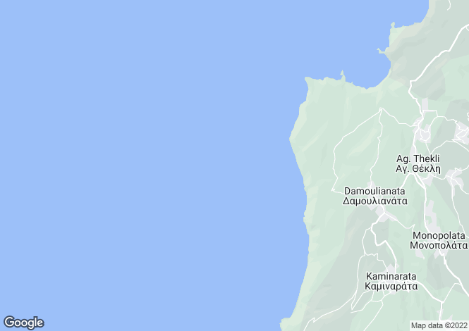 Map for Ionian Islands, Cephalonia, Vasilikades