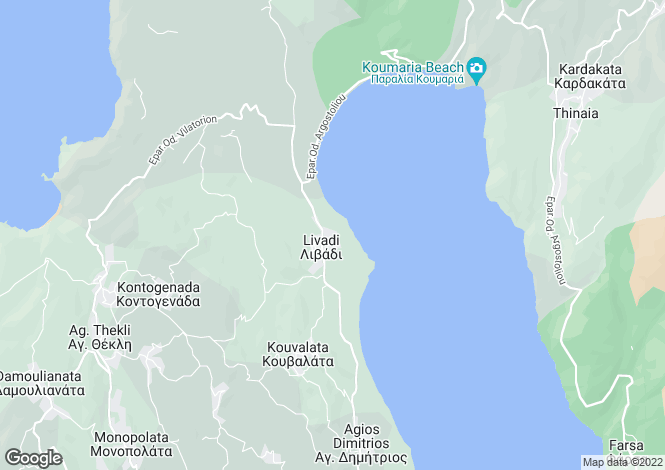 Map for Livadi, Cephalonia, Ionian Islands