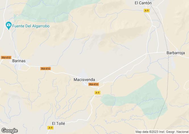 Map for Macisvenda, Murcia, Murcia