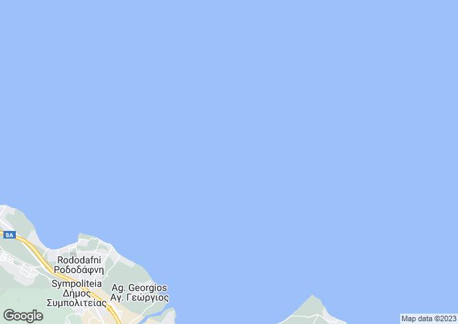 Map for Peloponnese, Achaea, Rododafni