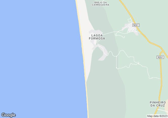 Map for Setúbal, Carvalhal