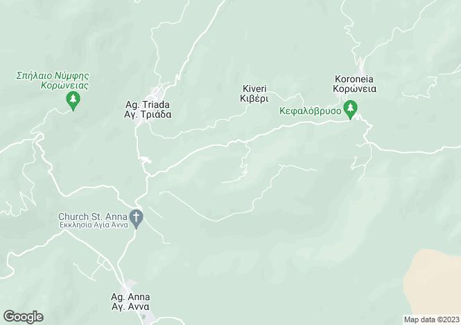 Map for Sterea Ellas, Boeotia, Koroneia