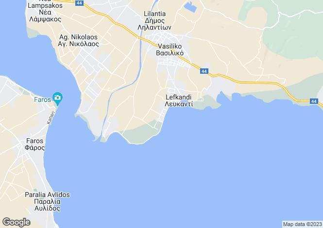 Map for Vasiliko, Evvoia