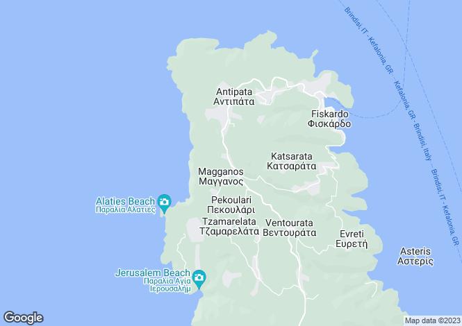 Map for Steliata, Cephalonia, Ionian Islands