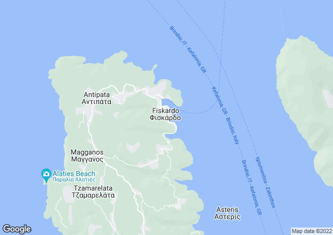 Map for , Kefalonia, Greece