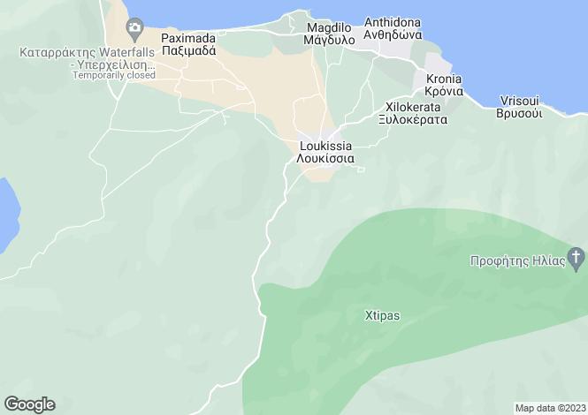Map for Evvoia, Loukisia