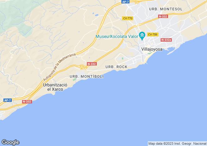 Map for Villajoyosa/la Vila Joiosa, Villajoyosa/la Vila Joiosa, Alicante