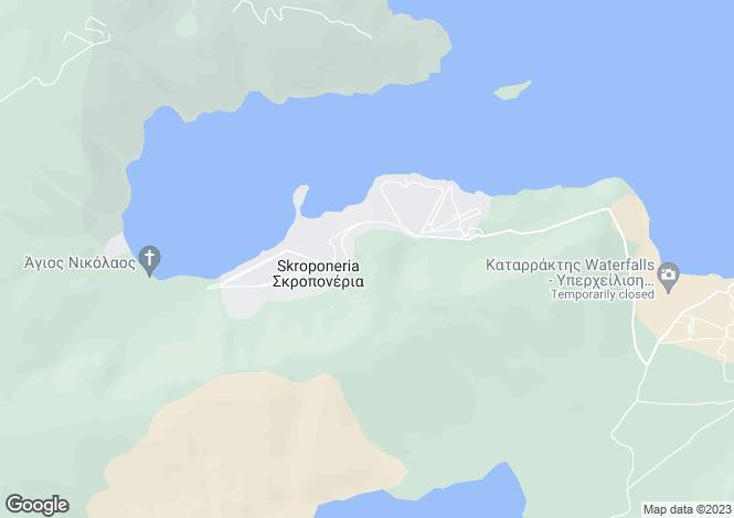 Map for Agios Ioannis, Boeotia, Sterea Ellas