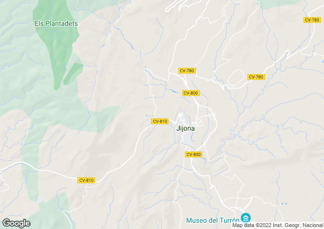 Map for Xixona, 03100, Spain
