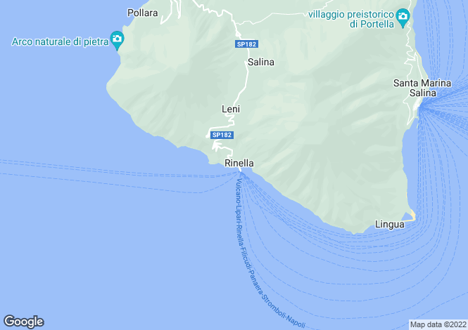 Map for Sicily, Messina