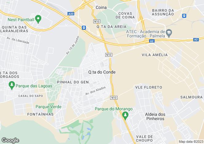 Map for Portugal,Setúbal,Sesimbra