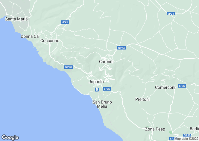 Map for Calabria, Vibo Valentia, Joppolo