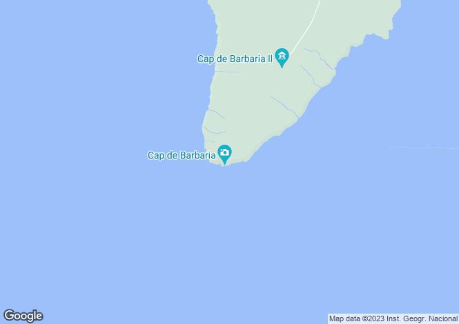 Map for Villa In Cap Barbaria, Formentera, Ibiza