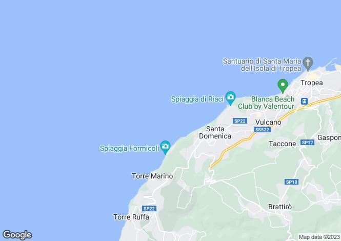 Map for San Nicolo, Vibo Valentia, Calabria