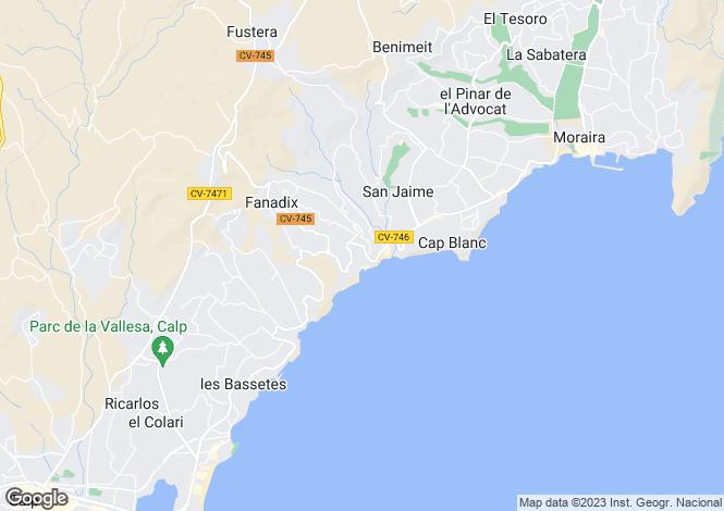 Map for Benissa
