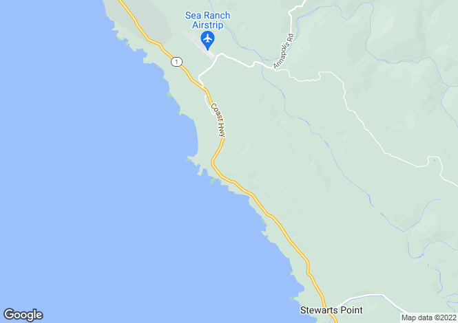 Map for California, Sonoma County, The Sea Ranch