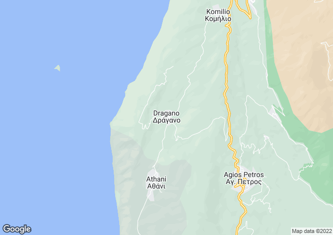 Map for Ionian Islands, Lefkada, Lefkada