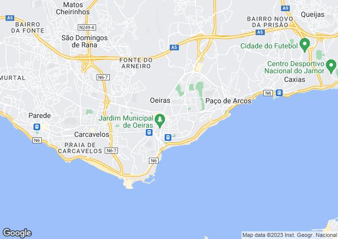 Map for Oeiras e São Julião da Barra, Paço de Arcos e Caxias, Oeiras, Lisboa