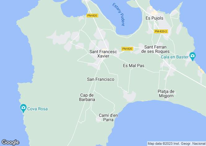 Map for Formentera Views, Near La Savina, Formentera,, Ibiza, Spain