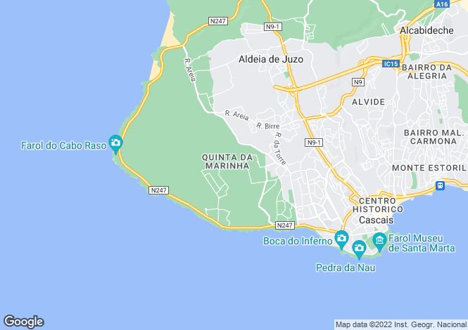 Map for Quinta Da Marinha, Cascais, Portugal