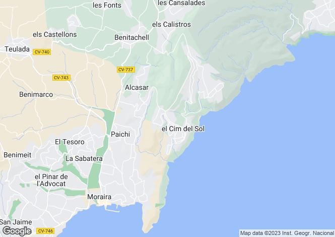 Map for Cumbre Del Sol