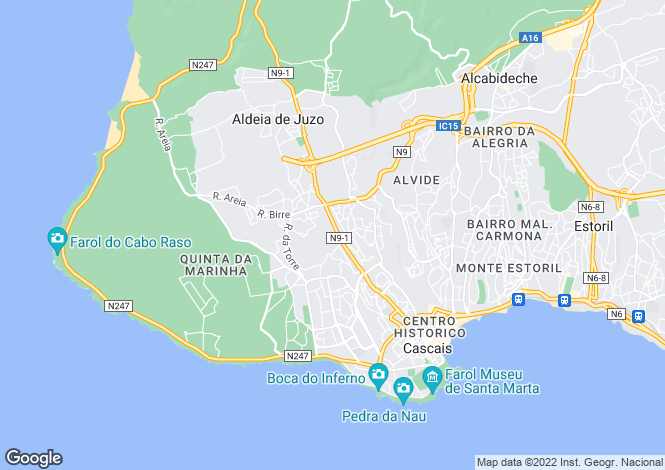 Map for JARDINS DE BIRRE, Birre, Cascais, Lisbon