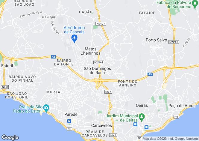 Map for São Domingos de Rana, Cascais, Lisboa