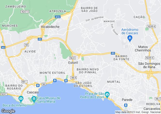 Map for Cascais e Estoril, Cascais, Lisboa