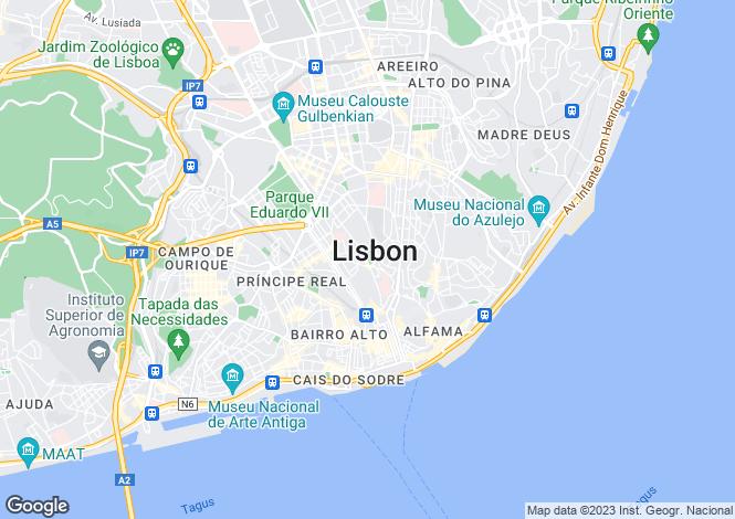 Map for Campo Martires Da Patria, Lisbon, Portugal