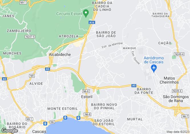 Map for Quinta Da Marinha, Estoril, Portugal, 2645-001