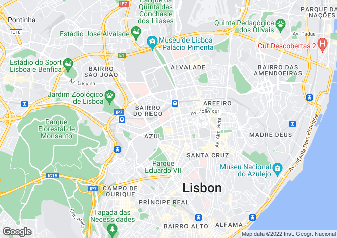 Map for Avenidas Novas, Lisboa, Lisboa