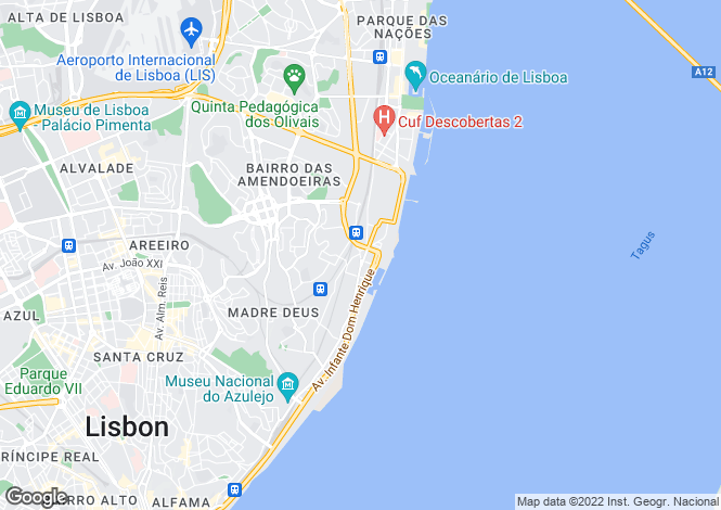 Map for Portugal,Lisboa,Lisboa