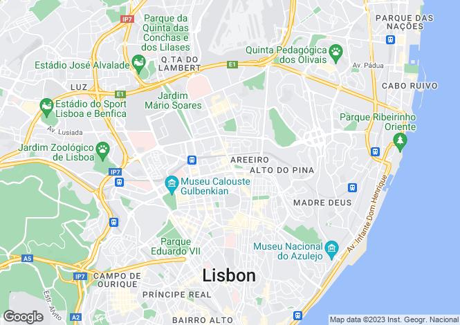 Map for Lisbon, Lisbon