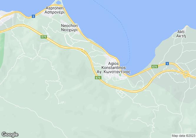 Map for Sterea Ellas, Phthiotis, Agios Konstantinos