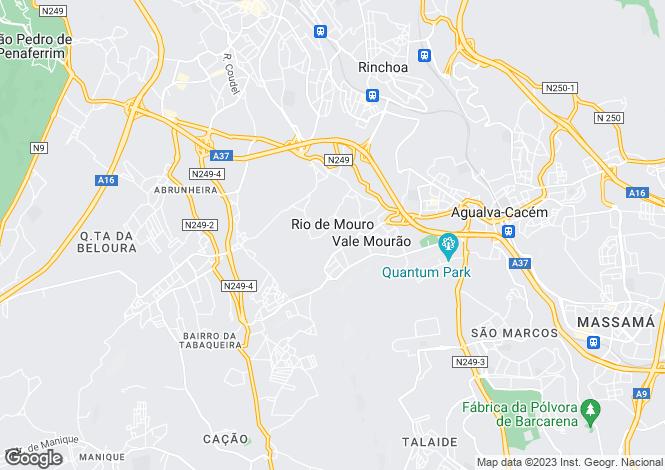 Map for Rio de Mouro, Sintra, Lisboa