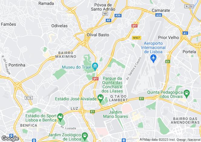 Map for Lumiar, Lisboa, Lisboa