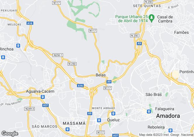 Map for Queluz e Belas, Sintra, Lisboa